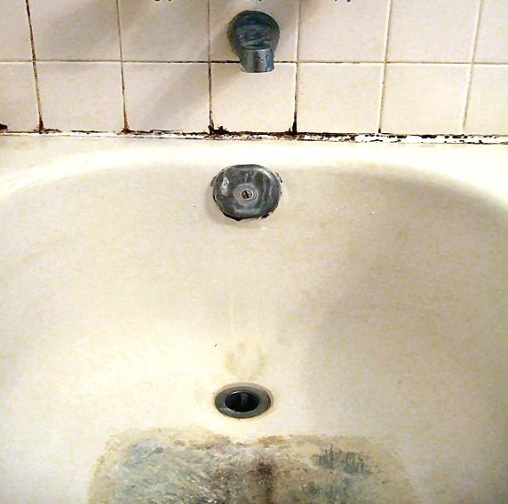 how to remove black mold in bathroom sink